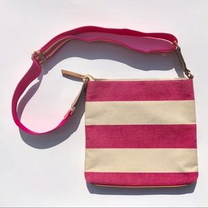 Tommy Hilfiger Crossbody Purse Canvas Striped
